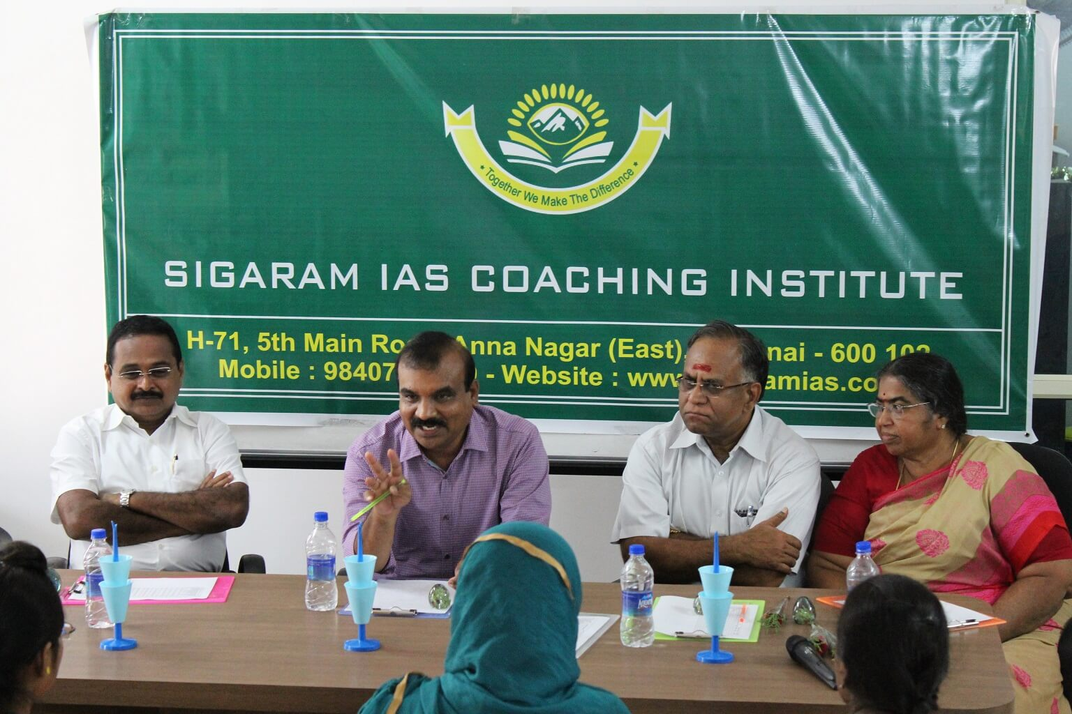 Mr.Ramesh Prabha - Sigaram is an I.A.S. Coaching Institute